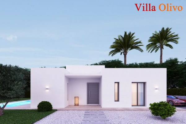 Artist's impression of Villa Olivo