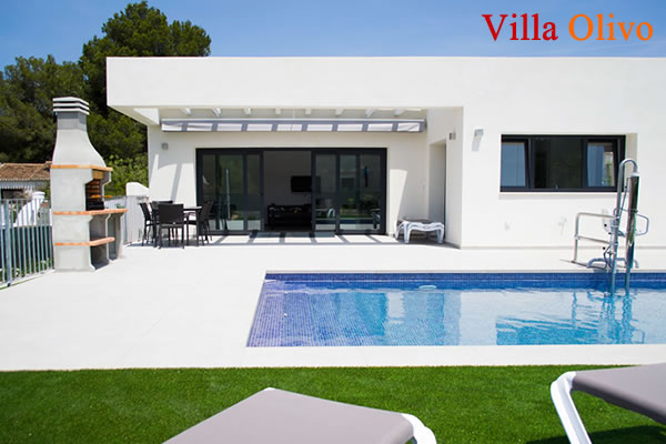 Disabled holiday villa in Javea, Spain