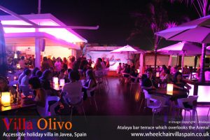 Atalaya bar in Javea, Spain