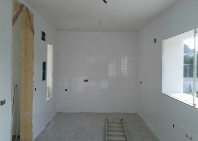 Kitchen before the units