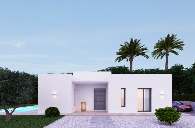 Access to the accessible holiday villa in Javea, Spain