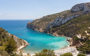Cala Granadella beach near Javea, Spain