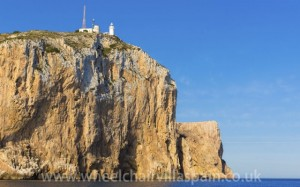 Lighthouse at Cabo San Antonio, Javea, Costa Blanca, Spain