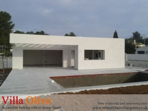 disabled-holiday-home-spain-before-landscaping