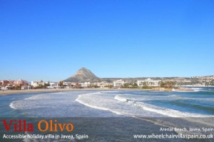 Javea beach Costa Blanca Spain