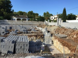 javea-costa-blanca-villa-build-footings-in