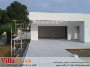 view-from-patio-area-of-disabled-holiday-property-in-spain