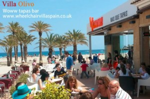 Woww tapas bar, Arenal, Javea, Spain